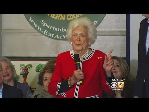 Outpouring Of Support For Barbara Bush After News Of Failing Health