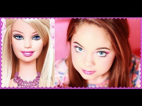 Barbie Make-up instructie video
