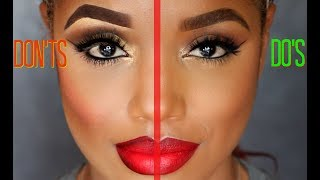 Video MAKEUP DO'S AND DON'TS  | MAKEUP Mistakes to Avoid | Ellarie MP3, 3GP, MP4, WEBM, AVI, FLV Februari 2019