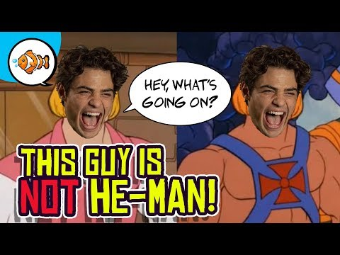 Noah Centineo To Play He-man?! What's Going On?!