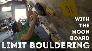Limit Bouldering on the Moonboard by Jackson Climbs