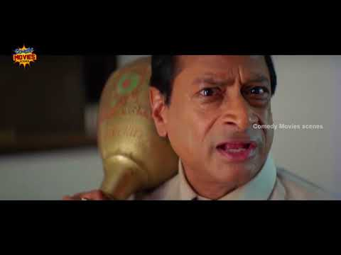 Best Comedy Videos |  Mr Medhavi Film | Brahmanandam and Ms Narayan Comedy | Latest Comedy Scenes