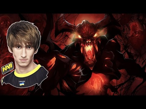 Dendi Playing Shadow Fiend 18-1 600 Dmg Dota 2