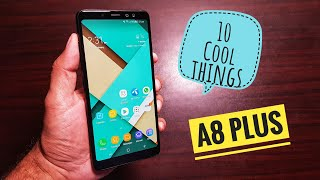 Video 10 cool things to do with Samsung Galaxy A8 Plus! MP3, 3GP, MP4, WEBM, AVI, FLV November 2018