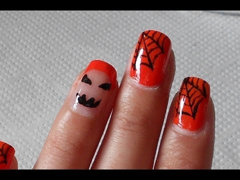 nail art stile halloween