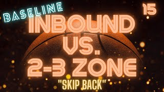 This is a baseline inbound play to run against a 2-3 zone defense. This play was originally posted on my channel along with 3 other plays in the same video. For ease of use, I decided to create individual videos for each of those plays.