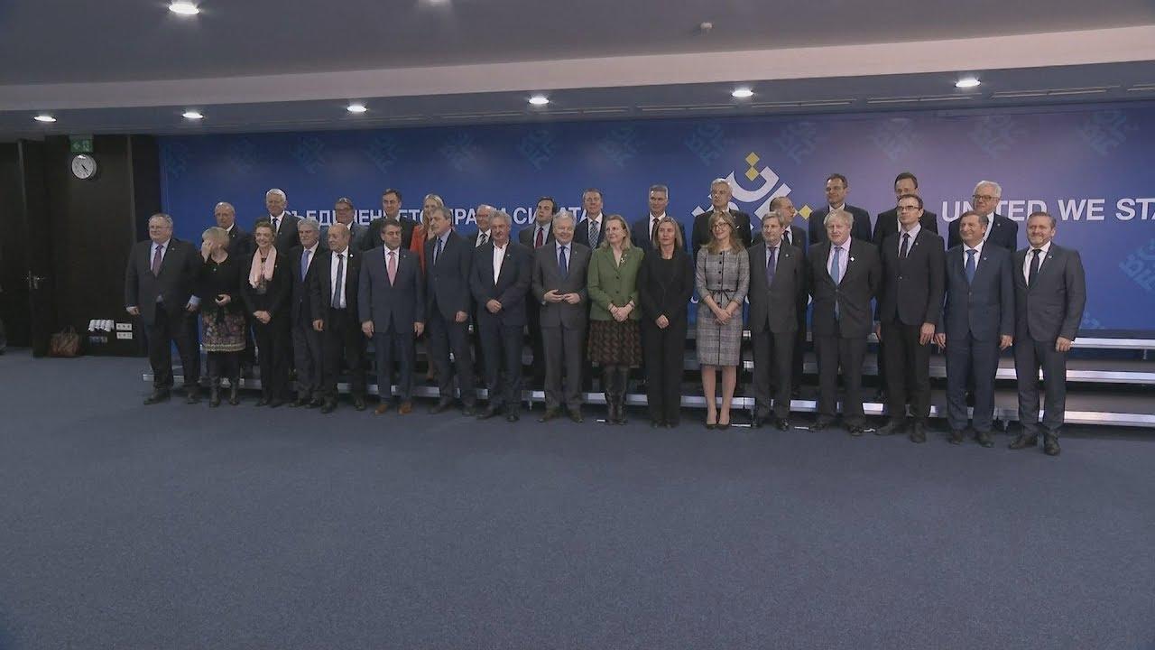 Συνεδρίαση στη Βουλγαρία των  υπουργών Εξωτερικών της ΕΕ