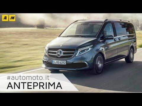 Mercedes Classe V 2019 | Nuovi motori e ambiente da prima classe