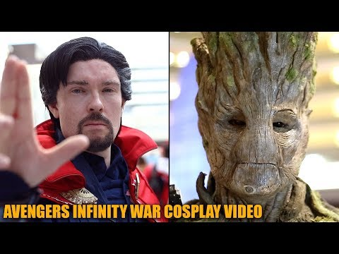 Avengers Infinity War Cosplay Video