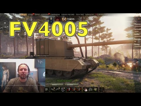 WOT - FV4005 After The Nerf - Worth Getting? | World Of Tanks
