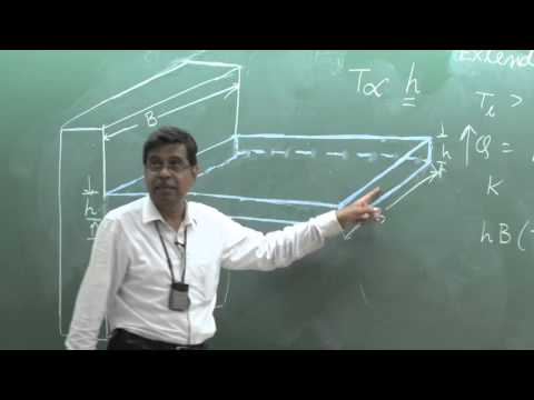 Lecture 11: Hear Transfer From Extended Surfaces (Fins)