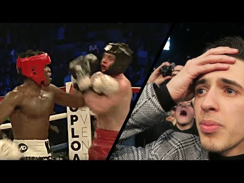 KSI VS JOE WELLER FULL FIGHT & KNOCKOUT *LIVE REACTION* (видео)