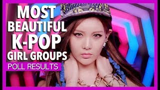 K-Ville Entertainment held a poll where people could vote for The Most Beautiful K-Pop Girl Groups of 2017. After weeks of voting and over 260,000 votes, these were the results. The results show that the largest fandoms will not automatically win or place well in every poll. Thanks to all the fandoms who took part! Buy some great K-Pop Merchandise here: http://soaestheticshop.com?rfsn=612138.194e5Listen to K-Ville Radio here: https://www.spreaker.com/user/k-ville/kville-radio-all-about-girl-power-missmo--------------------------------------------------------------------------------SOCIAL MEDIA LINKS:★ K-Pop Fan Forum: ► https://goo.gl/5H7G6w★ Listen to us on K-Ville Radio! ► https://goo.gl/f6rNLS★ Facebook ► https://goo.gl/lqVWYH★ Twitter ► https://goo.gl/1PbQBY★ VK ► https://goo.gl/xhYv0n★ Pinterest ► https://goo.gl/plcrpw★ Tumblr ► https://goo.gl/Sl4w2E★ Google Plus ► https://goo.gl/ZGiblc★ Instagram ► @kville_ent★ Website ► https://kvilleonline.com/