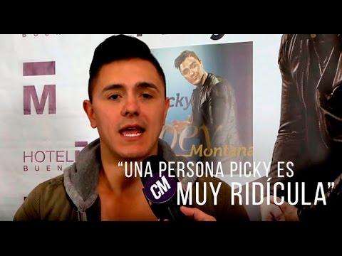 Joey Montana video Entrevista Argentina - CM 2016