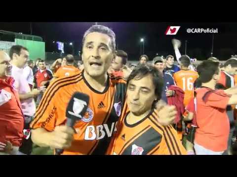 Fútbol Senior Campeón - Saludo de Hernán Díaz
