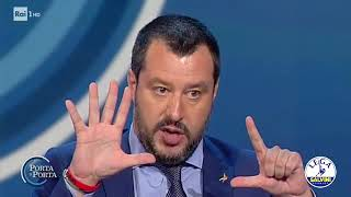 "Video MATTEO SALVINI A ""PORTA A PORTA"" (20.06.2018) MP3, 3GP, MP4, WEBM, AVI, FLV Juli 2018"
