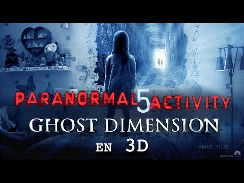 Paranormal Activity 5 Ghost Dimension - bande-annonce 2 (VOST)