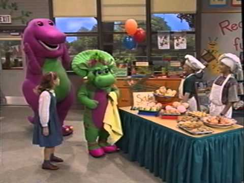 Barney's Musical Scrapbook (2000 Version) Part 4