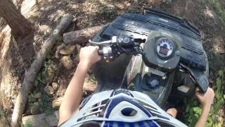 9. Polaris sportsman 700 riding and overview