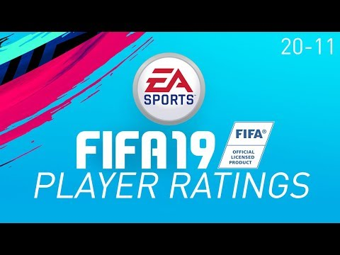 TOP 100 PLAYERS IN FIFA 19! (20-11)