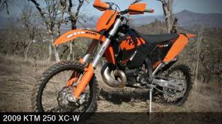 6. KTM 250 XC-W 2009 Off Road Dirt Bike Review