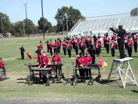 """Lafayette County High School Commodore Marching Band  -""""Knockout""""- 2011"""