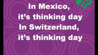 World Thinking Day Song