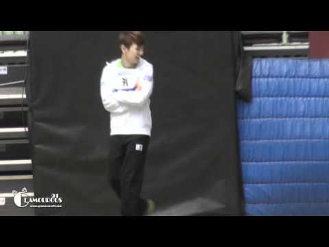 [fancam] Mischievous Key With Mir @ Idol Sports Competition