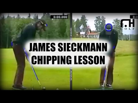 My chipping lesson with U.S short golf game coach James Sieckmann