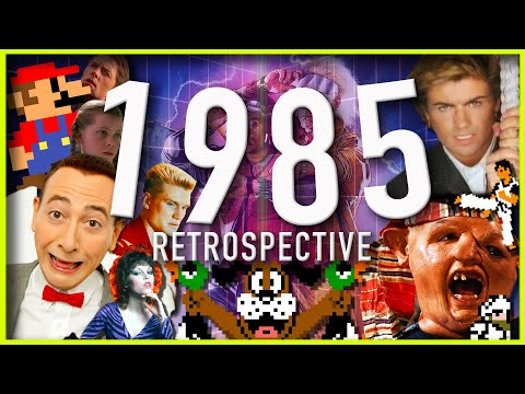 The Year is 1985 - Super Mario - Back To The Future - The Goonies - Rocky - Kung Fu - Pee Wee