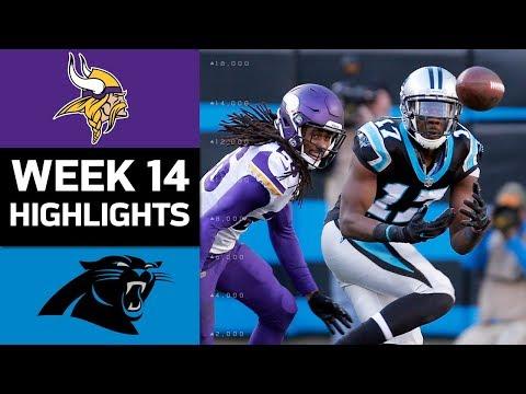 Video: Vikings vs. Panthers | NFL Week 14 Game Highlights
