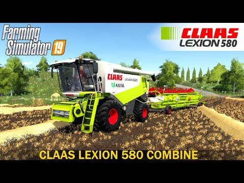 Claas Lexion 580 v1.0.0.0