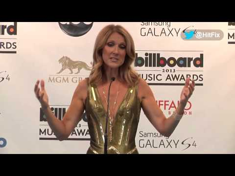 hitfixcom - In the pressroom of the 2013 Billboard Music Awards, Celine Dion discusses her return to Vegas, her perception of success, the importance of family, and fina...