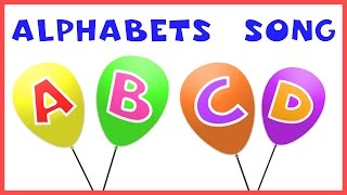 Alphabet Song  ABC Song  Letters Song  ABCD For Kids & Children