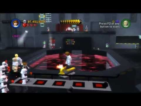 Lego Star Wars Saga - Episode 4 - Chapter 5 - Death Star Escape! - Gameplay/Walkthrough