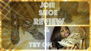 Joie Shoe Review and Try On - YouTube