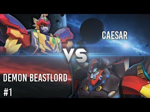 Hero Of Robots : Caesar VS Demon Beastlord #1