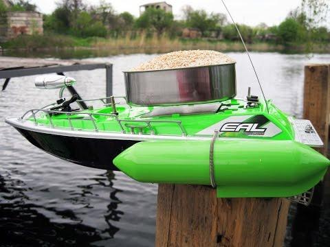 Радиоуправляемые катера для рыбалки своими руками