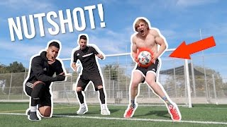 I TOOK A SOCCER BALL TO THE... (worst pain ever) Feat. F2 Free...