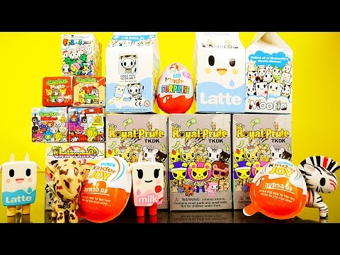 box - Kinder Joy Surprise Eggs + TokiDoki Blind Box Unboxing Toys Moofia + Royal Pride + Cactus Kitties / Pups + MORE !!! DCTC Check out more of our Play Doh Videos by Disney Cars Toy Club below!...