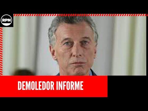 *EL HOMBRE FAKE NEWS* DEMOLEDOR Informe de SDTV contra Mauricio Macri