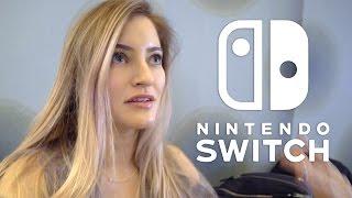 Watching Nintendo Switch Presentation in NYC! | iJustine