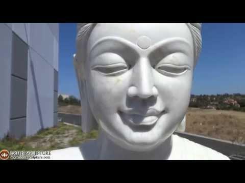 SOLD White Marble Gandhara Buddha 72