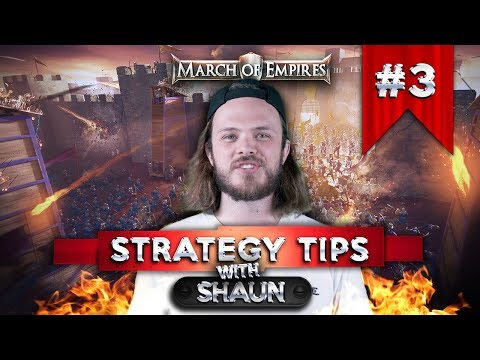 March of Empires - Strategy Tips Part 3 - Champion XP