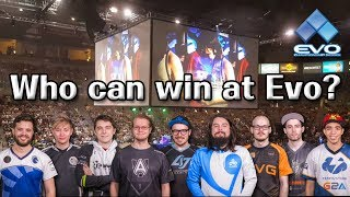 Who can win at EVO 2017?