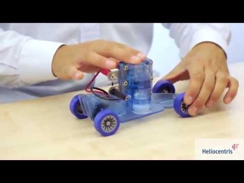 DrFuelCell® brændselscelle-bil komplet
