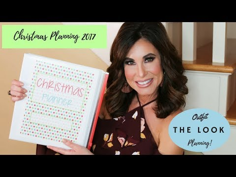 Christmas Planning 2017 | The Look Outfit Planning