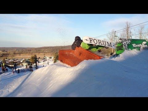 Faceplant på snowboard