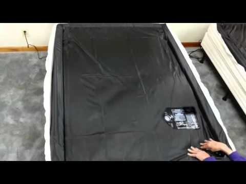 80% csillapítású vízágy matrac
