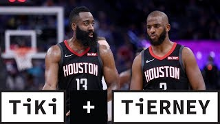 Is The Chris Paul and James Harden Relationship Over? | Tiki + Tierney